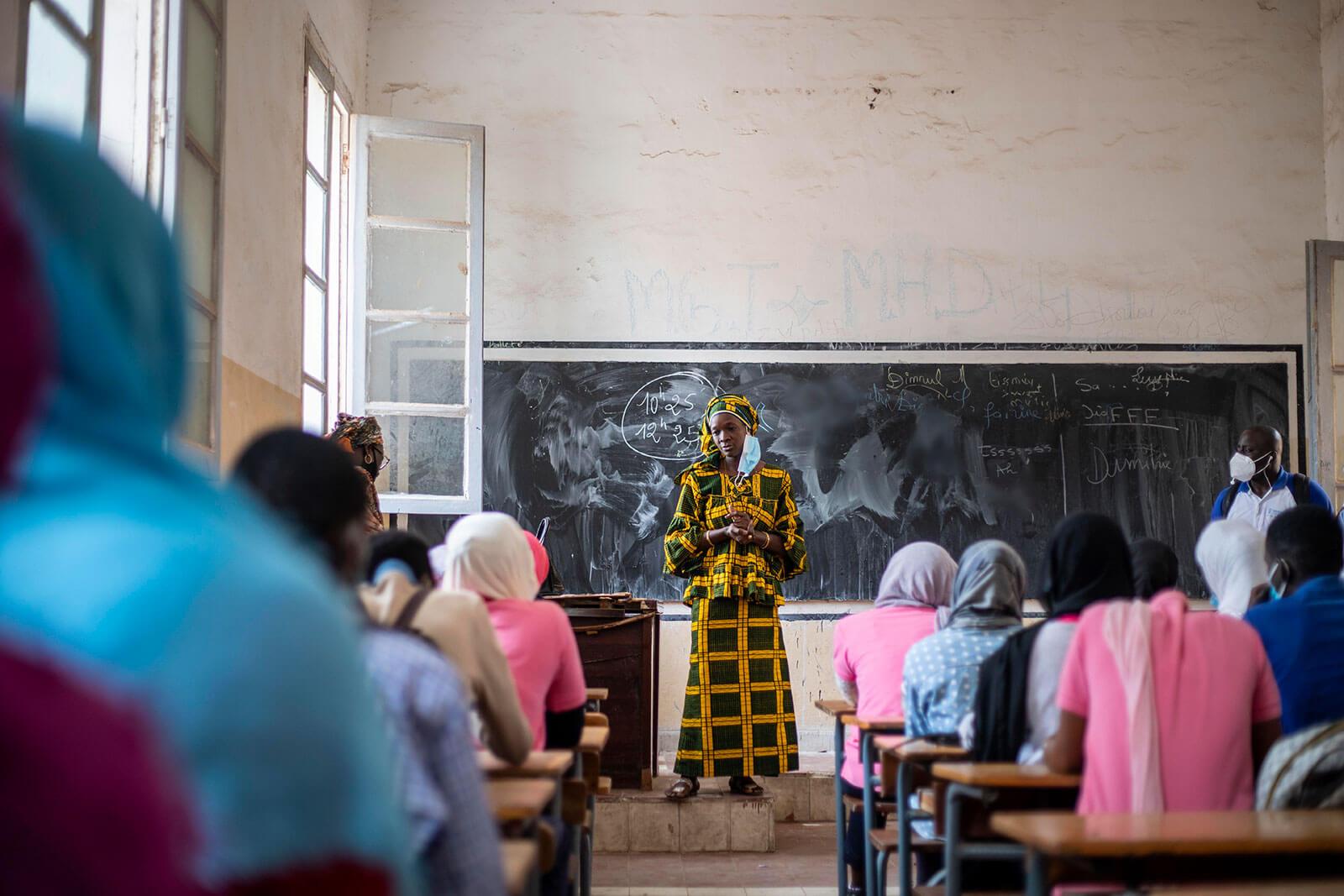 Contraception keeps girls in school